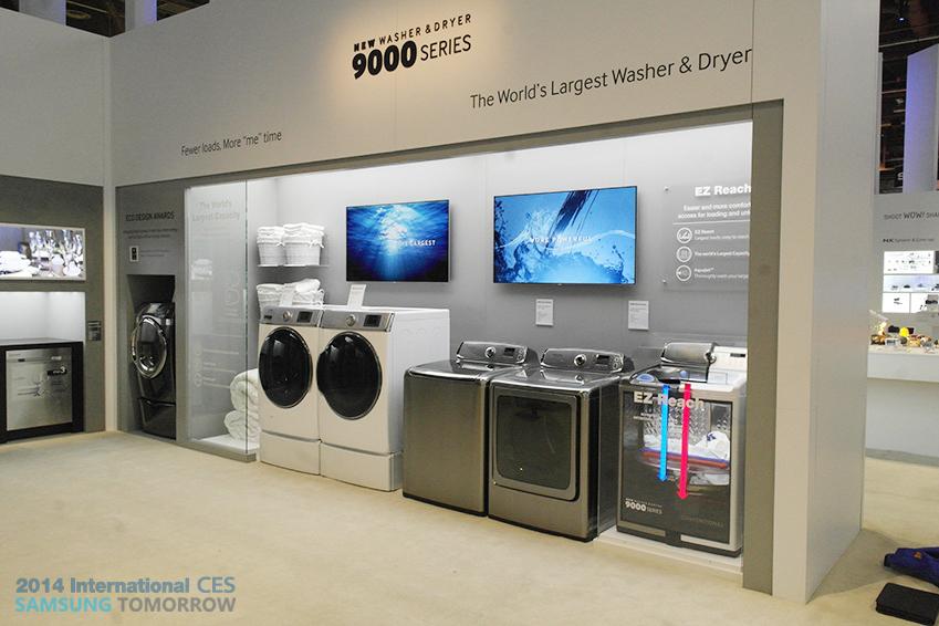 삼성 세탁기 9000 SERIES 이미지입니다.