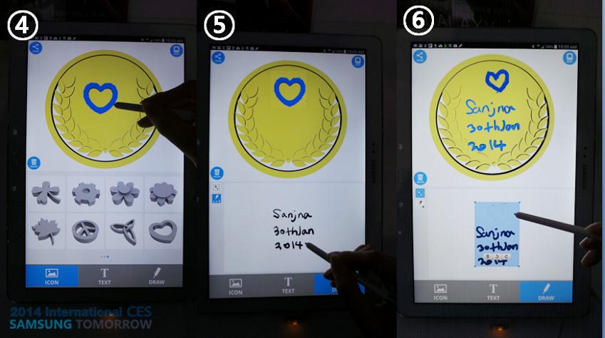 스토리텔러가 3D 프린팅 앱을 통해 나만의 케이스를 만들고 있습니다.