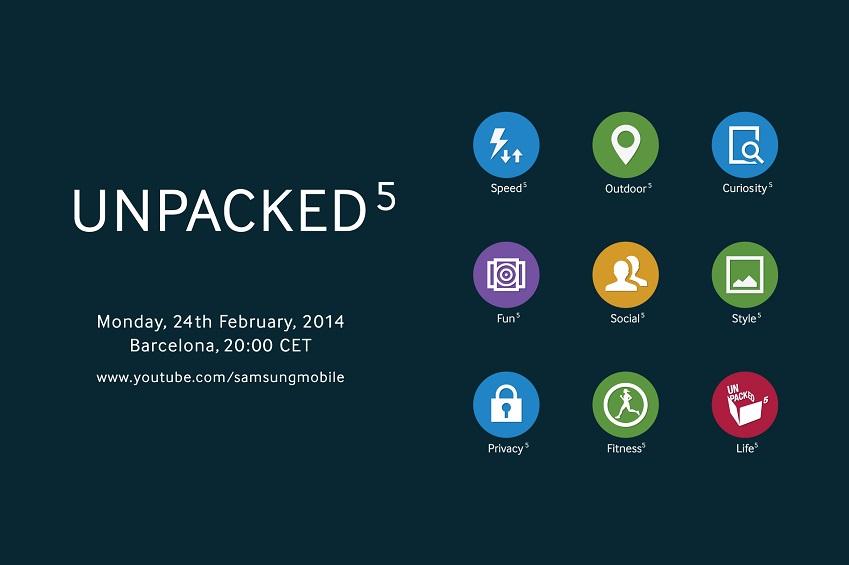 unpacked5 monday, 24th february, 2014 barcelona, 20:00 CET