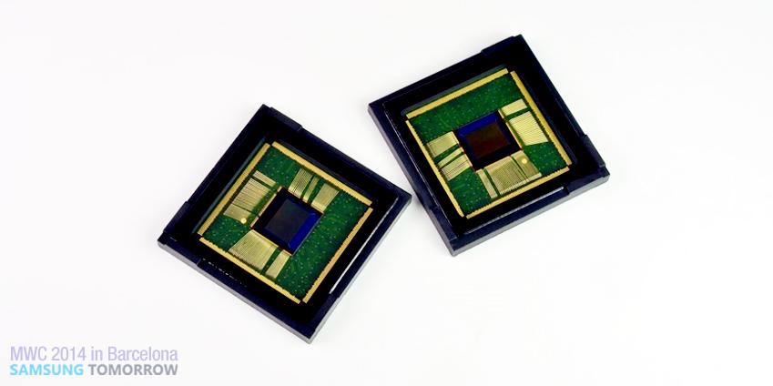 차세대 CMOS 이미지센서 신기술 '아이소셀(ISOCELL)'을 적용한 800만화소(1/4인치) 모듈입니다.