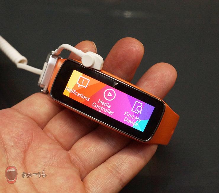 스마트밴드 삼성 기어 핏 사용 후기 이미지입니다