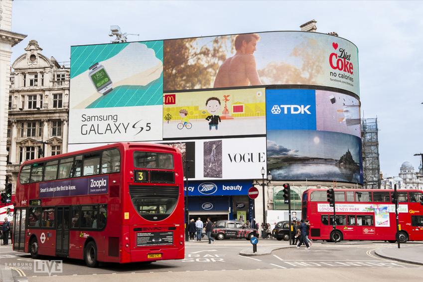 런던 피카딜리(Piccadilly) 광장