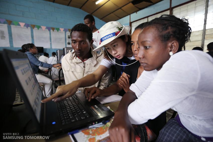 2013년 임직원 해외봉사단 에티오피아팀