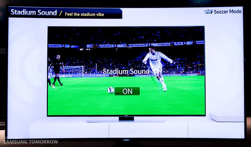 ②경기 분위기가 고조될 땐 '스타디움 사운드(Stadium Sound)'