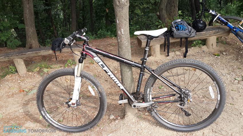 산악자전거