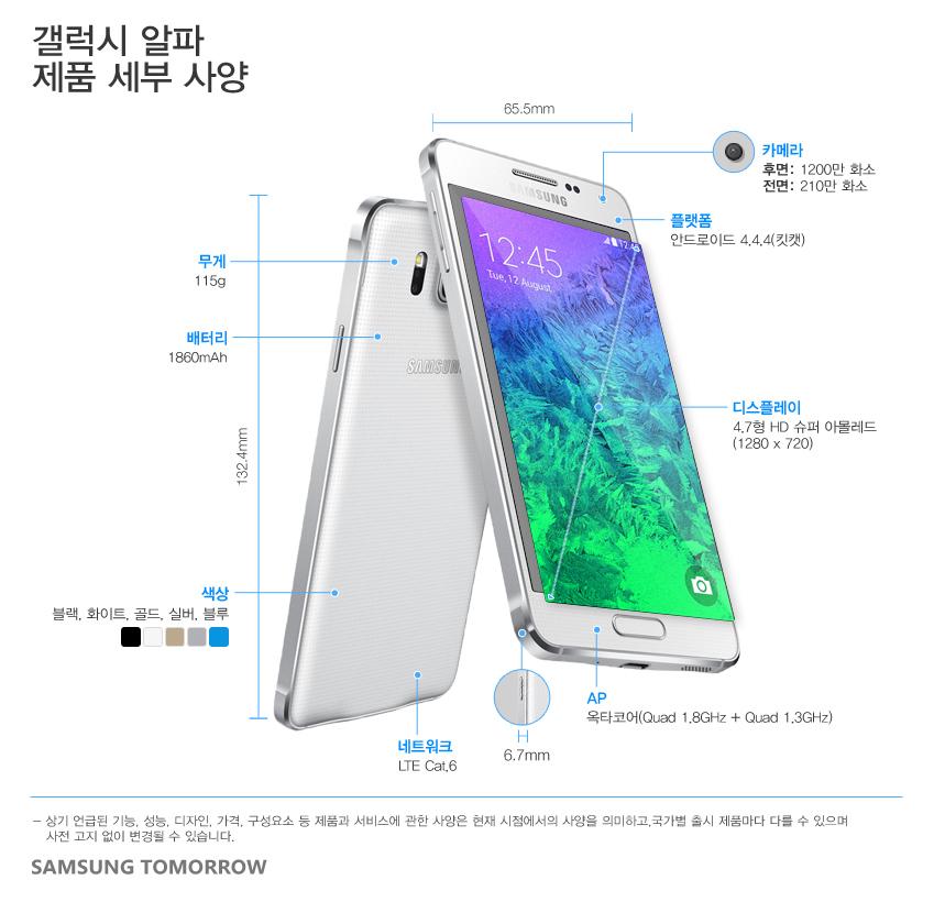갤럭시-알파_제품스펙(국문)