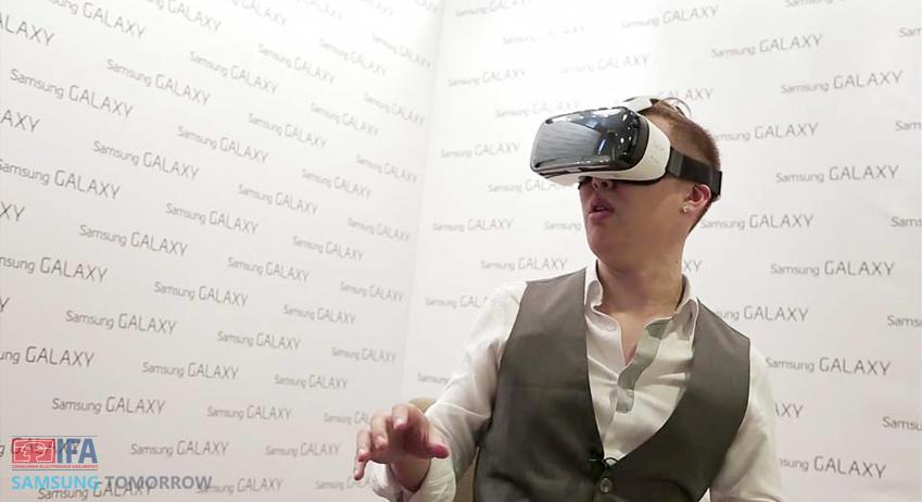 기어 VR을 직접 체험해봤습니다.