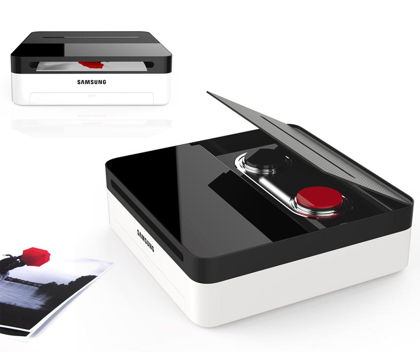 하이브리드 디자인의 흑백 레이저 프린터 '원앤원(One&One)'은 2가지 카트리지를 설치할 수 있는 프린터입니다.