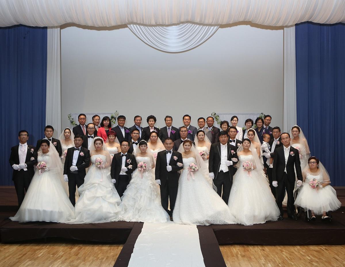 사랑의 합동결혼식(2)
