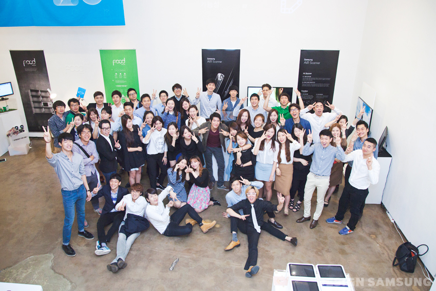 디자인멤버십 학생들