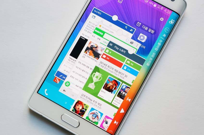 1. 최대 5개의 앱을 팝업 창으로 놓고 앱 사이를 오갈 수 있는 멀티윈도우