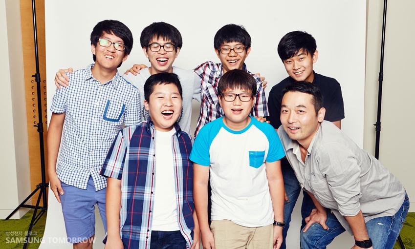 목동잔반프로젝트팀 단체사진