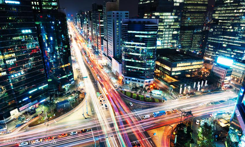 서울 도심 사진