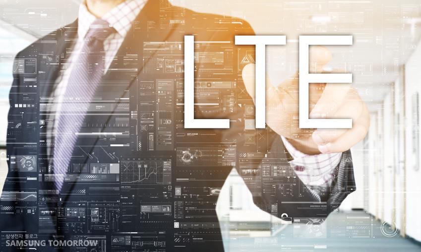 LTE를 상징하는 이미지
