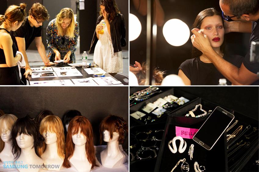 이번 화보에선 12개의 스토리를 표현하기 위해 내로라하는 패션 업계 전문가가 대거 참여했을 뿐 아니라 가발·의상 등 소품도 다양하게 준비됐습니다.