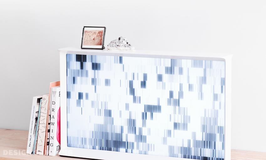 세리프 TV의 '커튼 모드(curtain mode)' 인터페이스입니다.