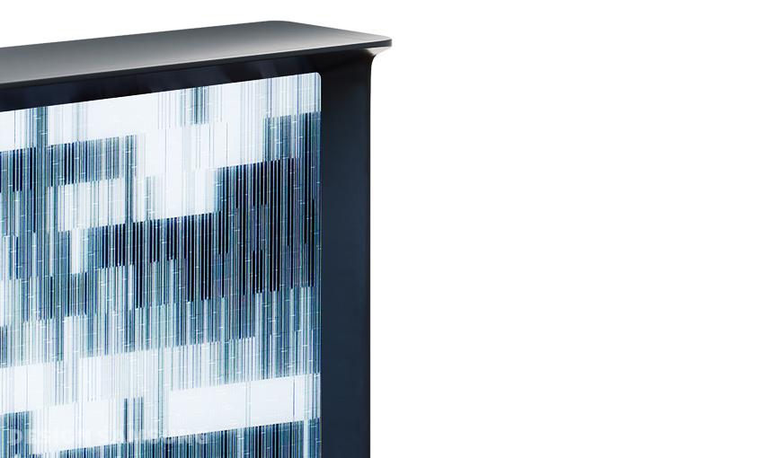 세리프 TV의 '커튼 모드(curtain mode)' 인터페이스 화면입니다.