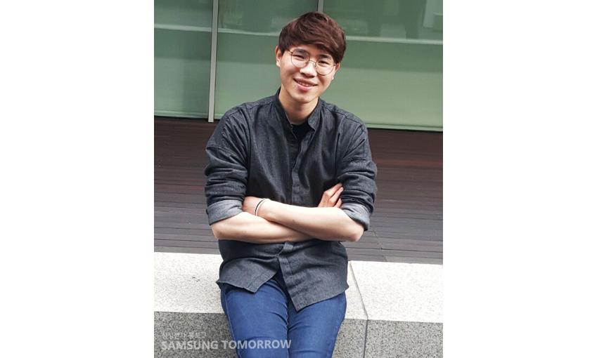 '오션'팀원 김종수씨입니다.