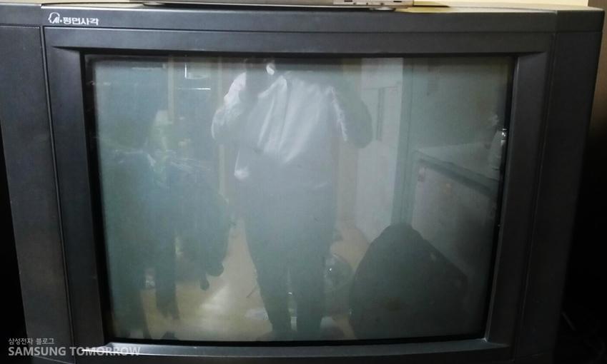 삼성 시네마 TV입니다.