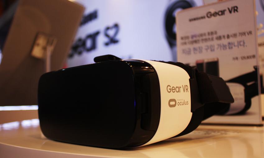 가상현실 GearVR 역시 체험할 수 있습니다.