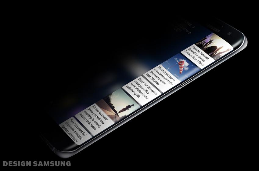 갤럭시 S7 엣지, 엣지 패널 이미지