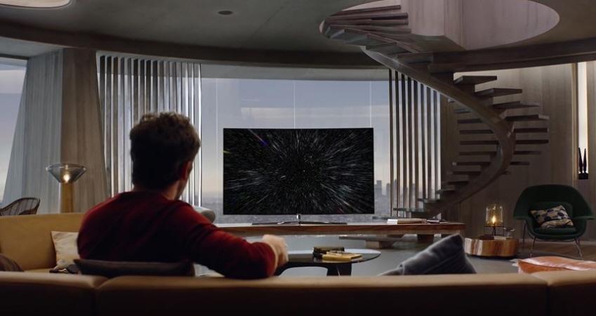 삼성 TV 브랜드 영상 '이것이 바로 TV다' 캡처 이미지