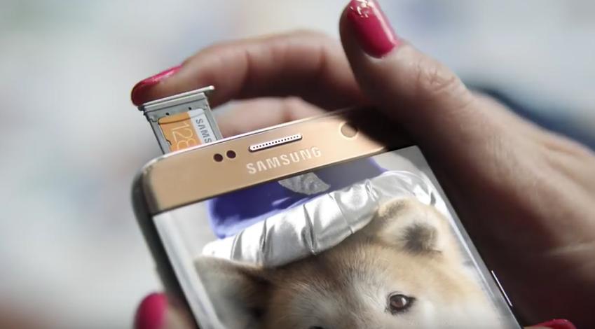 스마트폰에 마이크로 SD카드를 넣어 간편하게 용량을 늘릴 수 있다면?