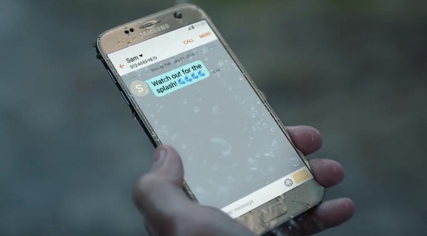 또, 갑자기 쏟아지는 폭우 속에서도 문자는 물론 통화까지 가능하다면요?