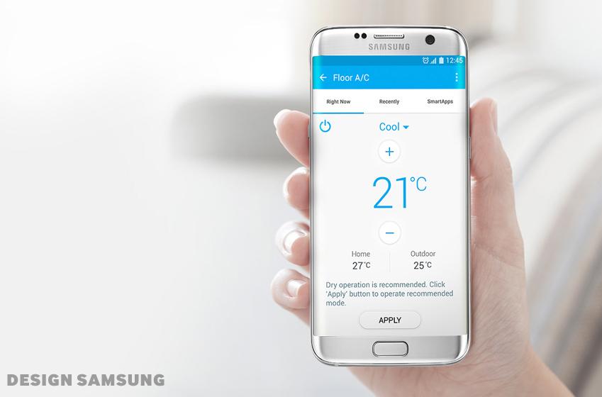 스마트폰 애플리케이션과 연동해 즉시 구동할 수 있다(온도 설정도 가능)