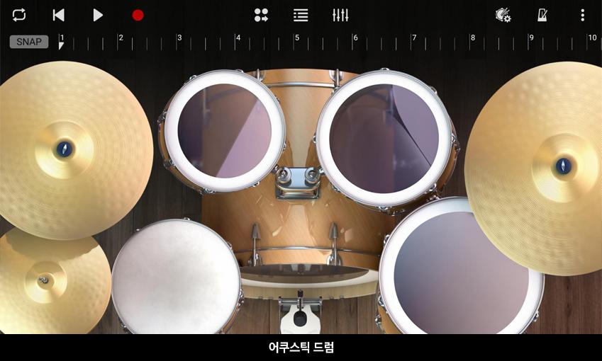 어쿠스틱 드럼