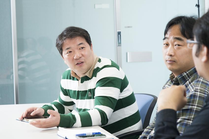 """▲""""충전에 있어서도 안전이 중요하다""""고 강조하는 박철우 수석"""
