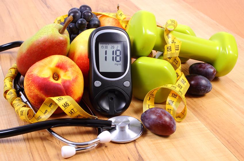 운동, 과일 등 건강한 생활 유지