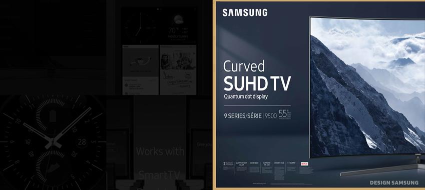SUHD TV 삼성제품에도 적용한 삼성원 폰트