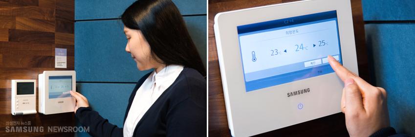 """문은영씨는 """"편리한 제어 시스템을 활용, 고객 요구에 즉각적으로 대처할 수 있는 점 역시 360 카세트의 장점""""이라고 말했다"""