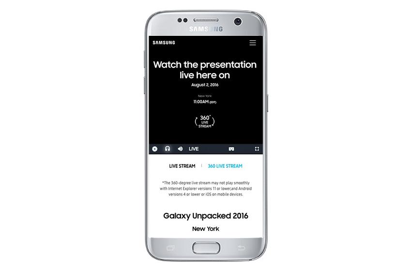 삼성 모바일로 갤럭시 언팩 보기