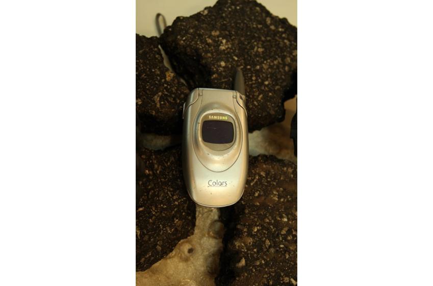 이반 디보스 위원이 사용했던 삼성 휴대전화 단말기