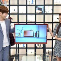 삼성전자, 세리프 TV 32형 레드 컬러 출시