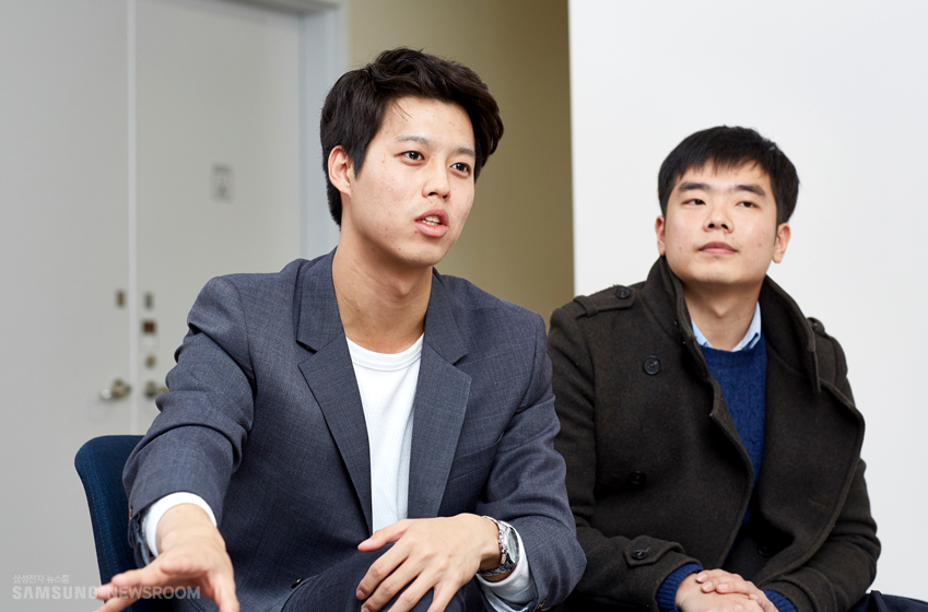 팀장 최근과 박기호씨