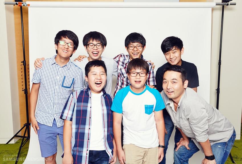 목동잔반프로젝트 팀의 단체사진