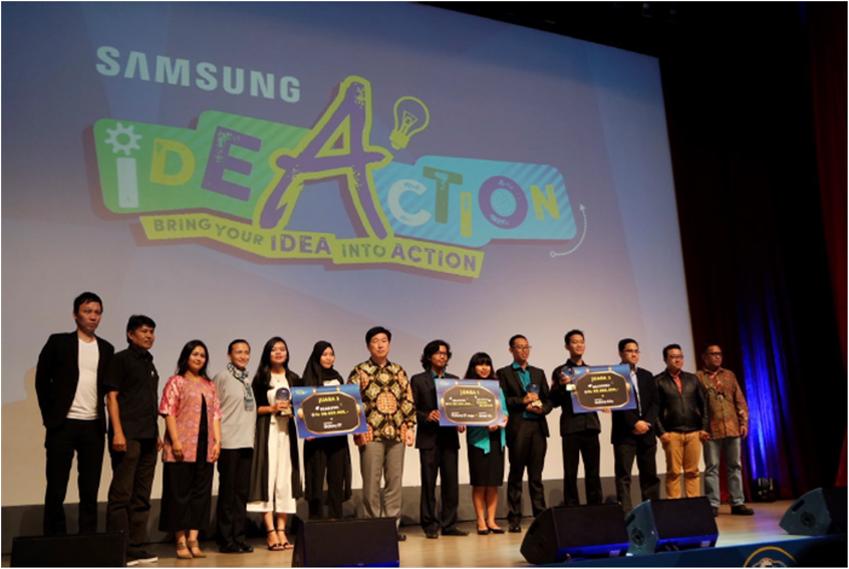 삼성 아이디어 액션 (Samsung Ideaction) 단체 사진
