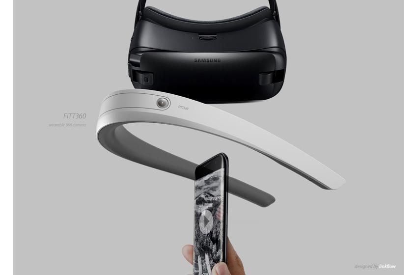 링크플로우가 선보일첫 번째 모델명은 '핏360(FITT360)'. 디자인은 위 사진(가운데)과 같은 형태가 될 전망이다