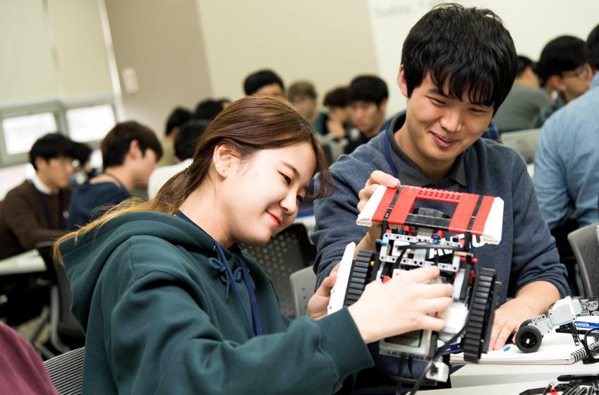 알고리즘 캠프 학생들