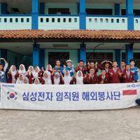 한국 봉사 천사 '아이오아이', 인도네시아 만두아고교 '접수'하다