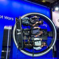 VR, 이제 360도·4D로 즐긴다! 사진으로 보는 삼성 갤럭시 스튜디오 이모저모