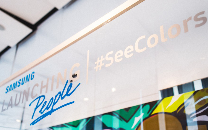 SAMSUNG LAUNCHING People #SeeColors