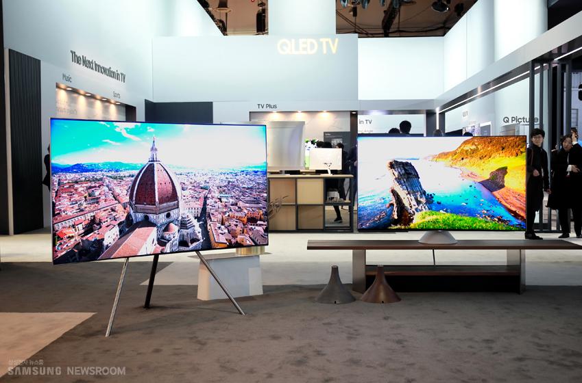 삼성전자 QLED TV 이미지