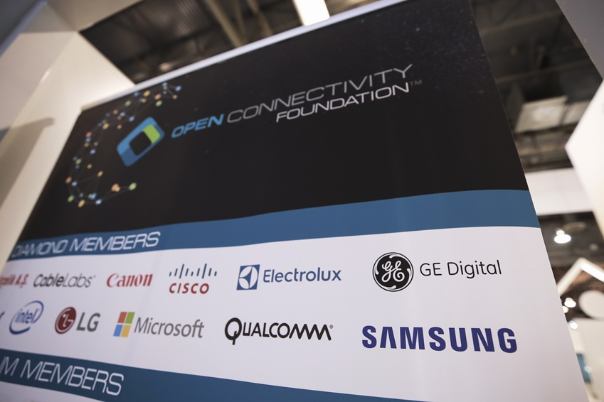 OPEN CONNECTIVITY FOUNDATION ™ 주요 멤버 기업 CableLabs , Canon , CISCO , Electrolux , GE Digital , intel , LG , Microsoft , QUALCOMM , SAMSUNG