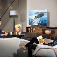 사진으로 미리 보자, 'QLED TV와 함께하는 일상'