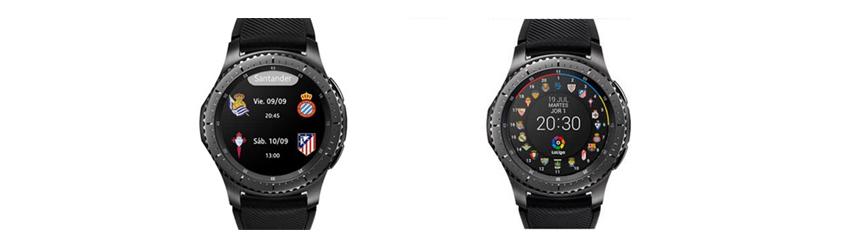 기어 S3 블랙 색상 디자인 이미지
