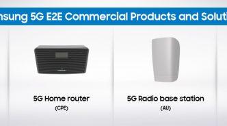 삼성전자, 단말부터 네트워크 장비까지 업계 최초 5G 상용제품 풀 라인업 공개